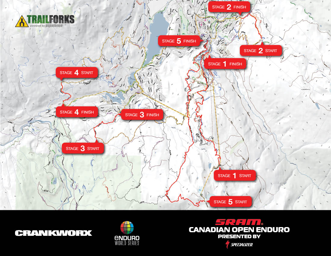 Crankworx sram canadian open enduro presented by specialized ews course map gumiabroncs Gallery