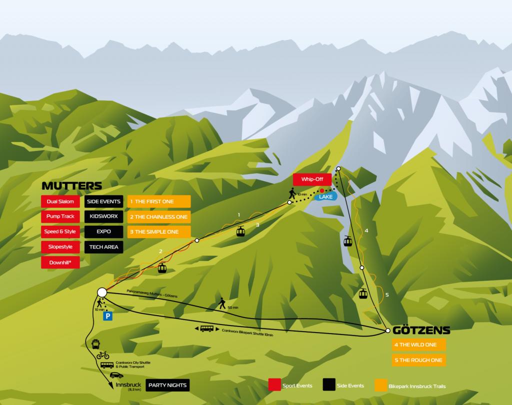 Bike Innsbruck Map