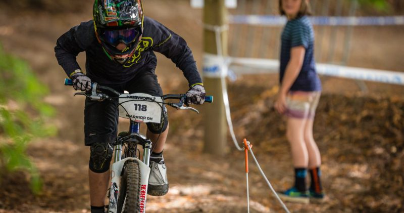 Kidsworx Sprint Warrior Downhill Race